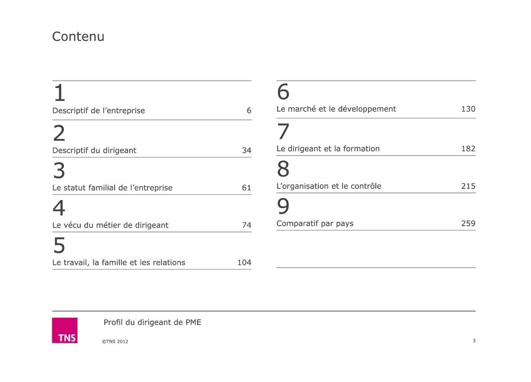 Contenu - Rapport ARIANE - Enquete-TNS-SOFRES-2012